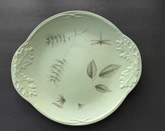 Platter Chop Plate Pfaltzgrass Green Naturewood Artsy Display