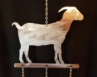 Goat wind chime