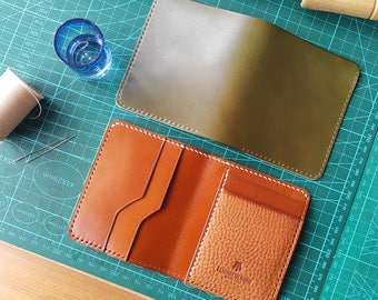 Handmade Shell Cordovan Leather Wallet