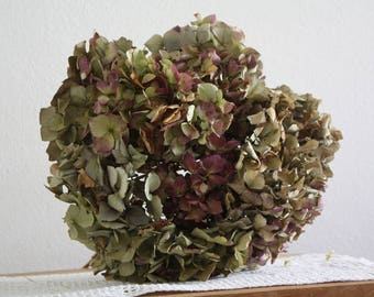 10 -Dried-Hydrangea-flowers-DIY-craft-bouquet, weddings , home decoration