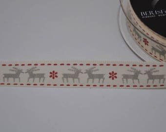 Berisfords christmas ribbons - 15mm width