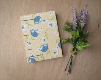 Floral Journal   Hardcover Journal   Handmade Notebook   Floral Book   Blank Pages   Blank Book   Hard Cover Journal   Hardcover Notebook