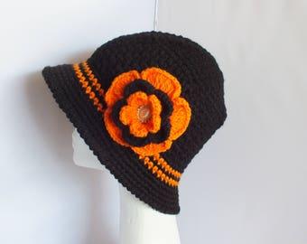 Crochet Winter Flapper Hats