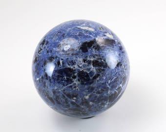 Sodalite Sphere, Polished, M-2022