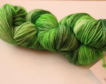 DK weight Sock Yarn superwash wool and nylon in color 'Nurmikko'
