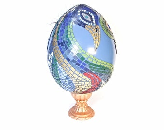 Giant Fabergé Style Imperial Easter Eggs Designer Jeweled Easter Eggs Big 6ft