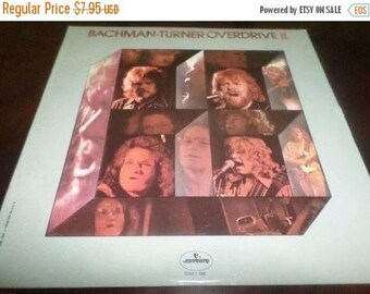 Save 30% Today Vintage 1974 Vinyl LP Record Bachman Turner Overdrive II Excellent Condition Mercury Records SRM-1-696