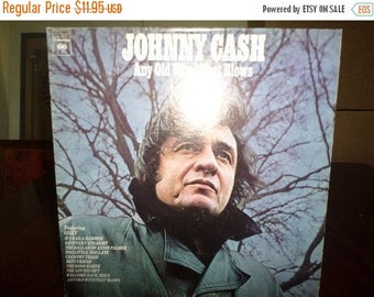 Save 30% Today Vintage 1973 Vinyl LP Record Any Old Wind That Blows Johnny Cash Excellent Condition 7074