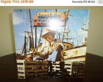 Save 30% Today Vintage 1973 LP Record Jimmy Buffett A White Sport Coat and A Pink Crustacean Very Good Condition 7485