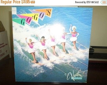 Save 30% Today Vintage 1982 Vinyl LP Record The Go Go's Vacation IRS Records Near Mint Condition 7512