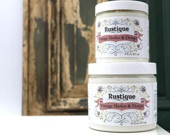 "Vintage Market & Design's Rustique- ""Chippy Paint Effect"" - All Natural- 8 Ounce Jar"