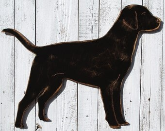 Lab Dog Sign Black Lab Dog Home Decor Dog Art Dog Lover Wall Decor Labrador Retriever Dog Wall Art Dog Lover Gift Dog Room Dog Wall Decor