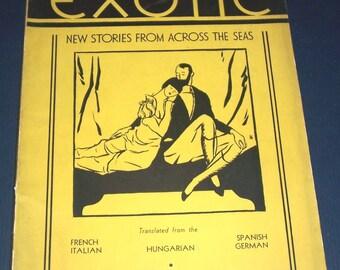 Winter 1934 Exotic magazine