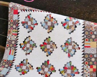 Twirling Fans Quilt Pattern - Color Girl Quilts - Sharon McConnell - CG1401