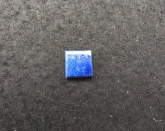 Vintage Lapis Lazuli 10mm Square Cabochon
