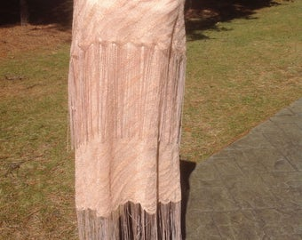 1920's Roaring Twenties, Jazz Age, Flapper Fringe Style Dress