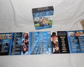 Original Dallas Complete Seasons One & Two DVD JR Larry Hagman Television Series