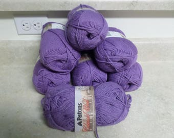 Patons Classic Wool 6+ Skeins Wisteria  Medium # 4