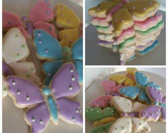 Butterfly Cookies (One Dozen)