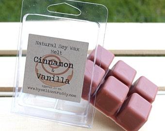 Cinnamon Vanilla Soy Wax Melt