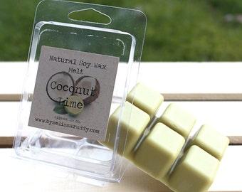 Coconut Lime Soy Wax Melt