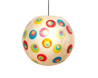 Spot-in-Spot ball lamp