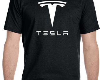 Tesla Motors Car Auto Electric Automobile Parts T Shirt