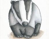 Custom Badger print