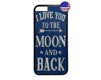 I Love You to the Moon & Back Case  for iPhone 4 4s 5 5s  5C 6 6s 6 Plus 7 7 Plus iPod Touch 4 5 6 case Cover