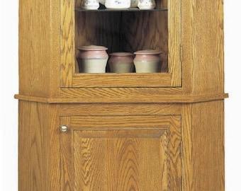 Corner Cabinet Woodworking Plans
