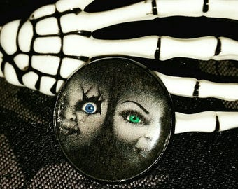 Bride of Chucky brooch