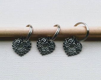 Stitch Markers for Knitting, Chunky and Extra Chunky Yarn, Knitting Notions