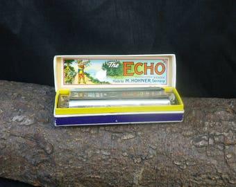 Vintage Echo Super Vamper Harmonica