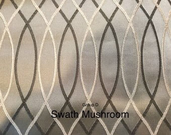 FREE SHIP - swath - fabric by the yard - 2 color options