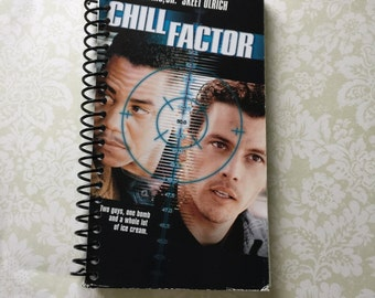 Chill Factor VHS Notebook - 90 Sheets - Free Shipping