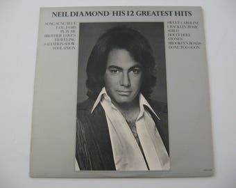Neil Diamond - His 12 Greatest Hits - Circa 1974