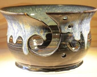 Yarn Bowl.  Ceramic Yarn Bowl.  Handmade Yarn Bowl.