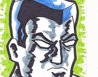 """Colossus X-Men ACEO trading card 2 1/2"""" x 3 1/2"""""""