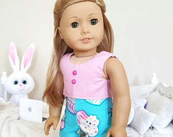 18 inch doll cupcake shorts