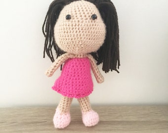 Crochet toy doll