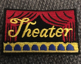 Theater Patch (1) - broadway play actor drama shakespeare stage kjallraven Hershel
