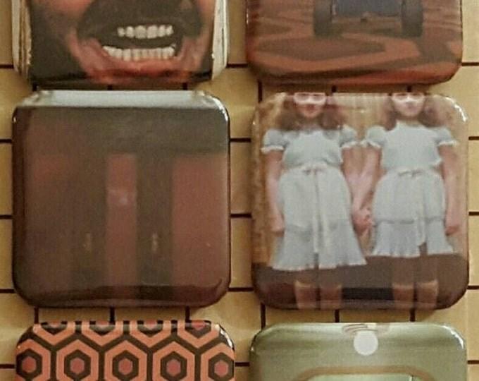 Horror Magnets, Horror, The Shining, Fridge Magnets, Horror Art