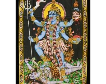 MAA KALI - Goddess Wall Hanging/Throw