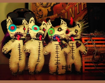 Hair Ballz - The Voodoo Cat Doll