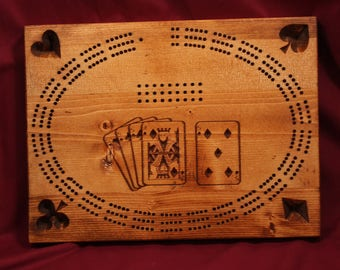 0383 Cribbage Board