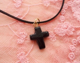 Sale on 1 Unique Gothic cross necklace for someone special