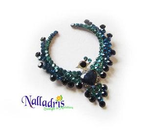 Miniature Necklace Blue Bird