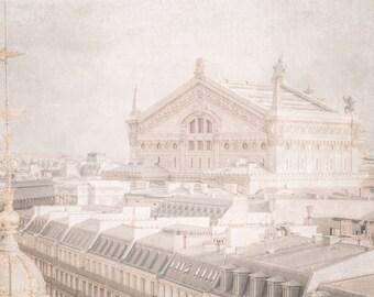 Paris Photography, Paris Opera House, Palais Garnier Paris, French Art, French Inspired Photo, Paris Art, Living Room Art, Large Wall Decor