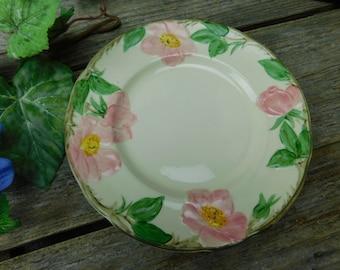 Set of 6 Vintage Franciscan Desert Rose Salad Plates
