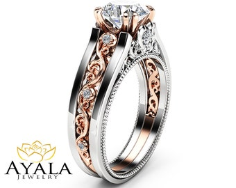 Ayala Jewelry Unique Engagement Ring Rose Gold By